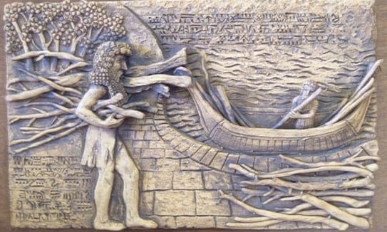 Before the pole shift, Enki warned one of his sons, Atrahasis, about the coming disaster, helping him create a boat atop a mountain. The Biblical tale of Noah was taken from the Sumerian record.