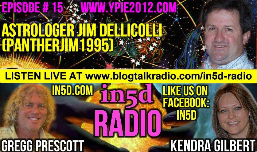In5D Radio - Astrologer Jim Dellicolli - Ep. #15