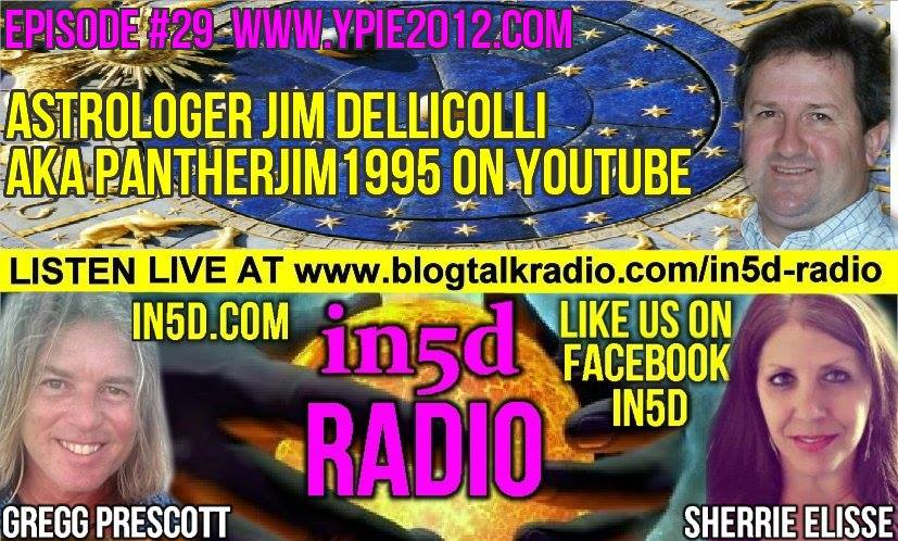 In5D Radio - Astrologer Jim Dellicolli aka PantherJim1995 Episode 29