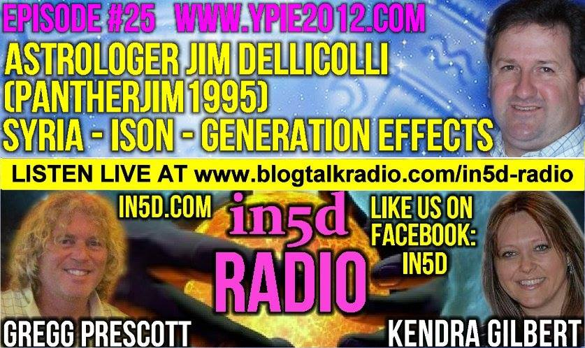In5D Radio - Astrologer Jim Dellicolli aka PantherJim1995 Episode 25