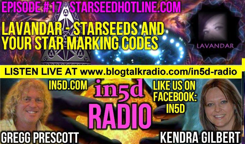In5D Radio - Lavandar - Walk-Ins, Starseeds And Your Star Marking Codes Ep. 17