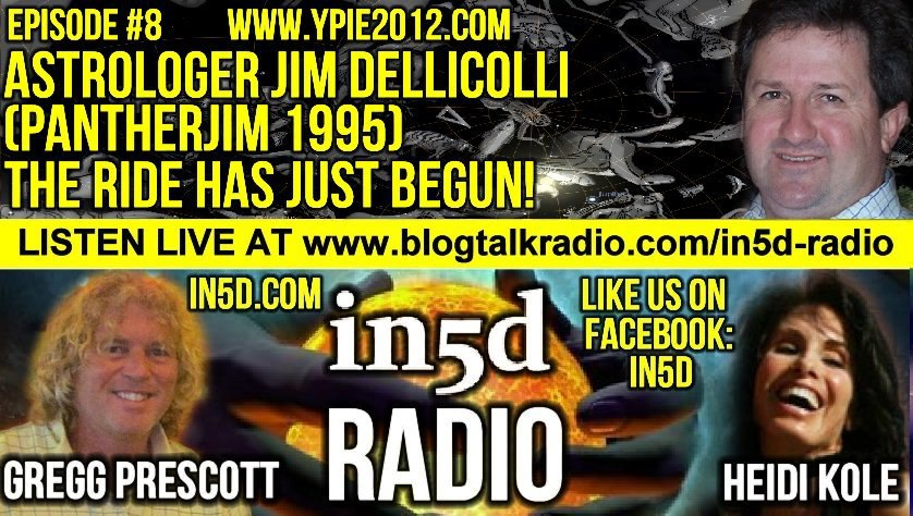 In5D Radio - Astrologer Jim Dellicolli - Our Spiritual Evolution - Ep. #8