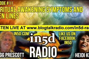 In5D Radio – Spiritual Awakening Symptoms & Open Lines – Ep. #11