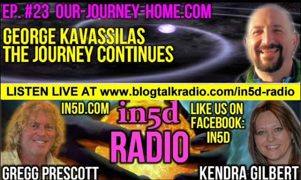 In5D Radio Contactee George Kavassilas - Episode #23
