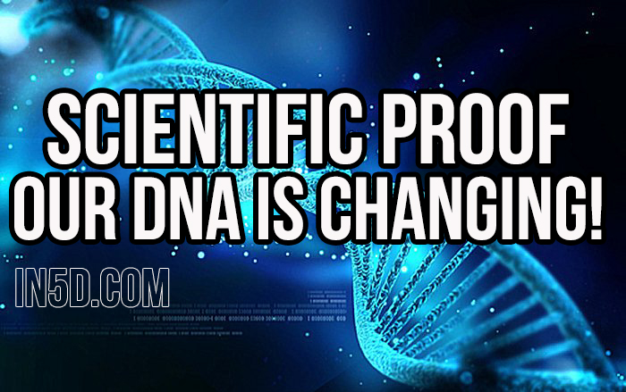 SCIENTIFIC PROOF! Our DNA Is Changing!