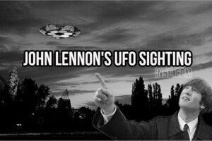 John Lennon's UFO Sighting