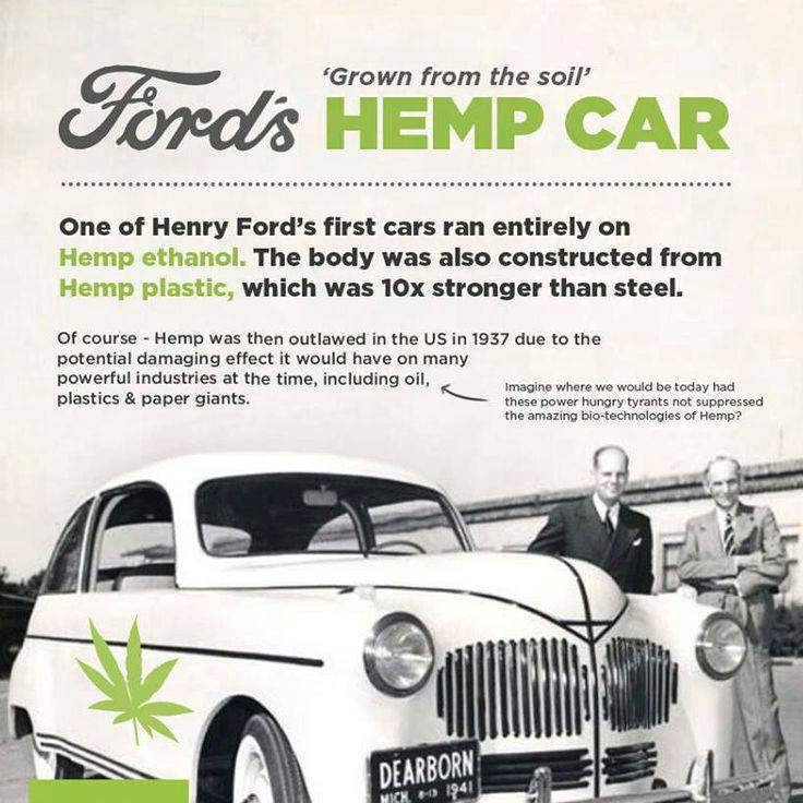 Henry Ford's Suppressed Hemp Car