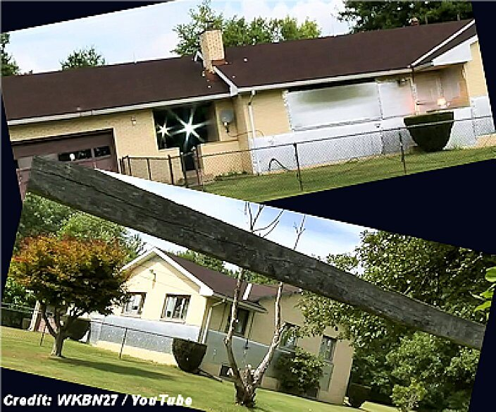 Man Defends Home From Extraterrestrials With Spotlights And Aluminum Foil