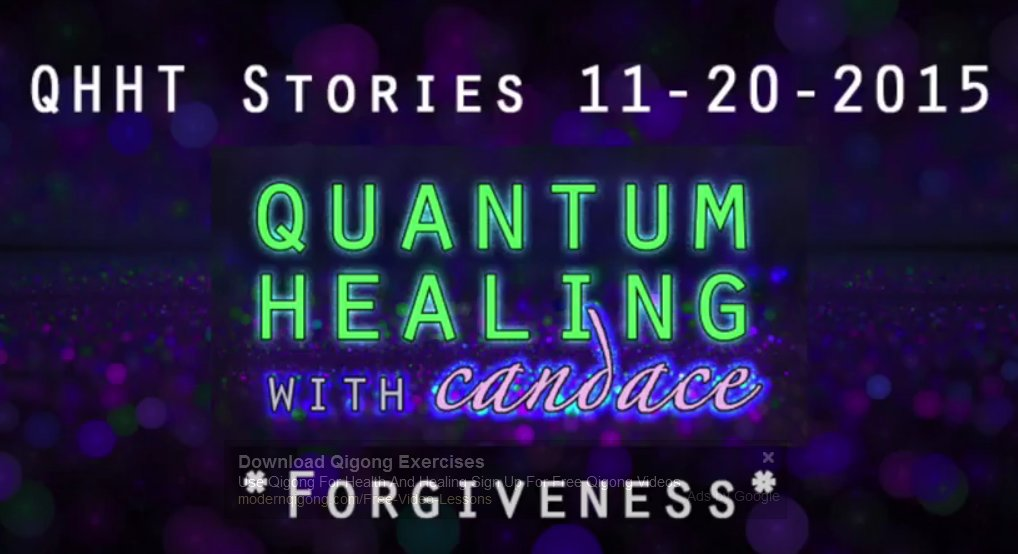 Quantum Healing With Candace - Forgiveness