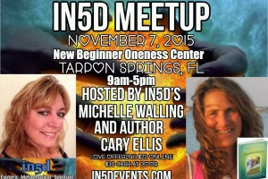In5d Meetup: Activate Your Superpowers! Nov. 7, 2015 Tarpon Springs, FL