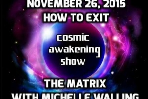 Cosmic Awakening Show- How To Exit The Matrix With Michelle Walling