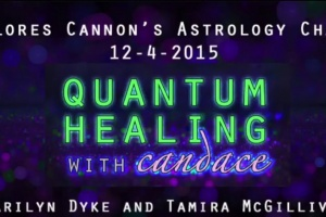 Quantum Healing with Candace – Dolores Cannon's Astrology Chart