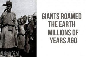 Giants Roamed The Earth Millions Of Years Ago