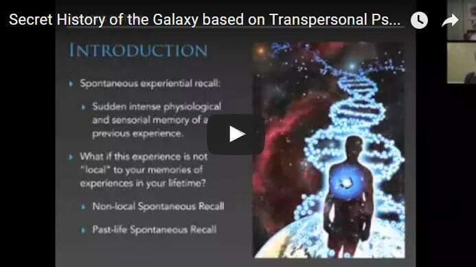 Adam Apollo - Secret History of the Galaxy based on Transpersonal Psychology Project