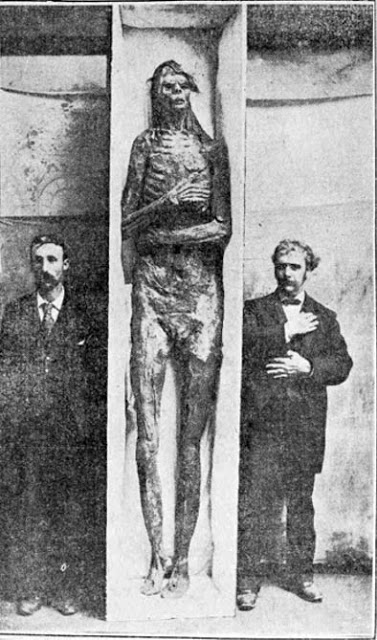 Figure 12. The San Diego giant was purchased by the Smithsonian for $500 (over $14,000 in today's money) in 1895, although they later claimed it was a hoax.