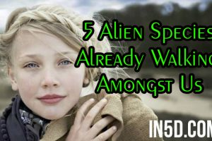 5 Alien Species Already Walking Amongst Us