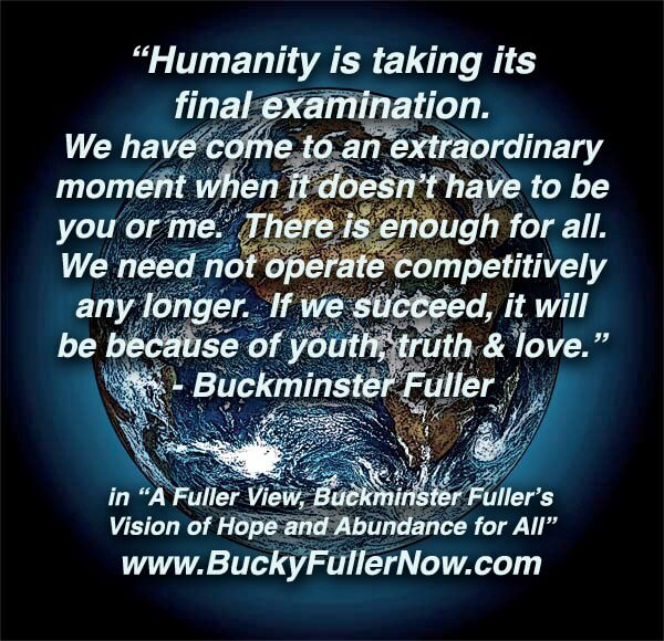 Buckminster Fuller: Why You Should NOT Earn A Living