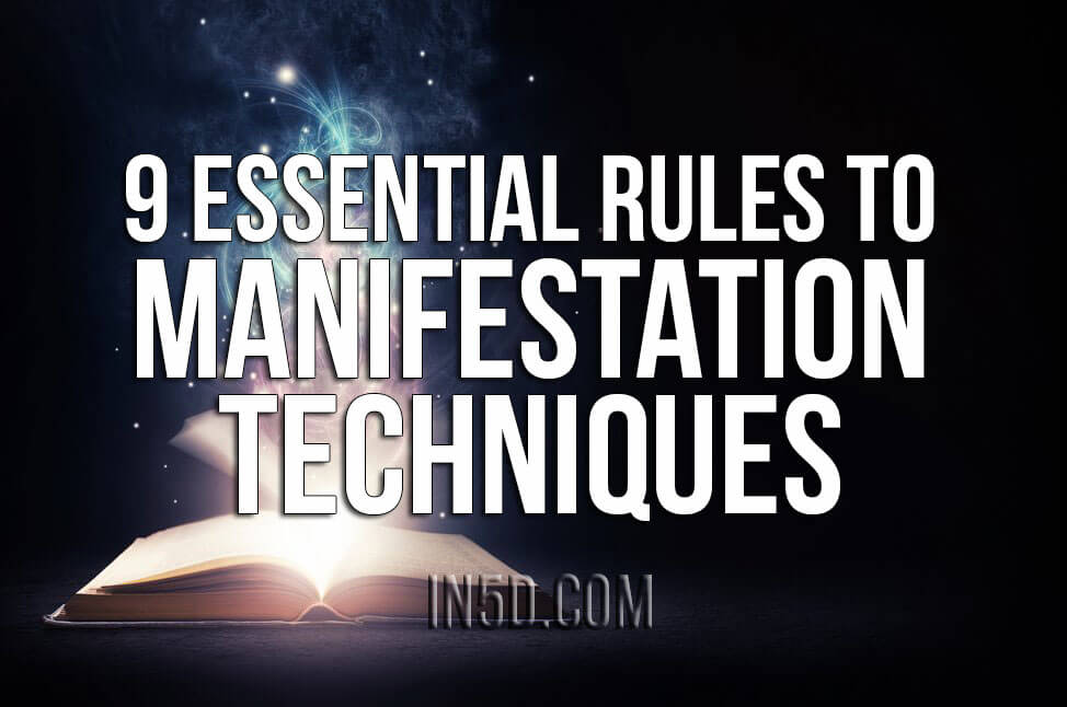 9 Essential Rules To Manifestation Techniques