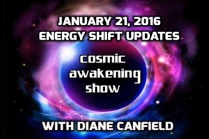Cosmic Awakening Show Recent Energy Shifts With Diane Canfield