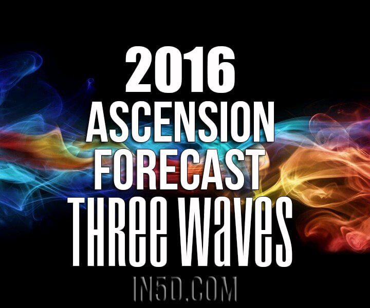 2016 Ascension Forecast: Three Waves