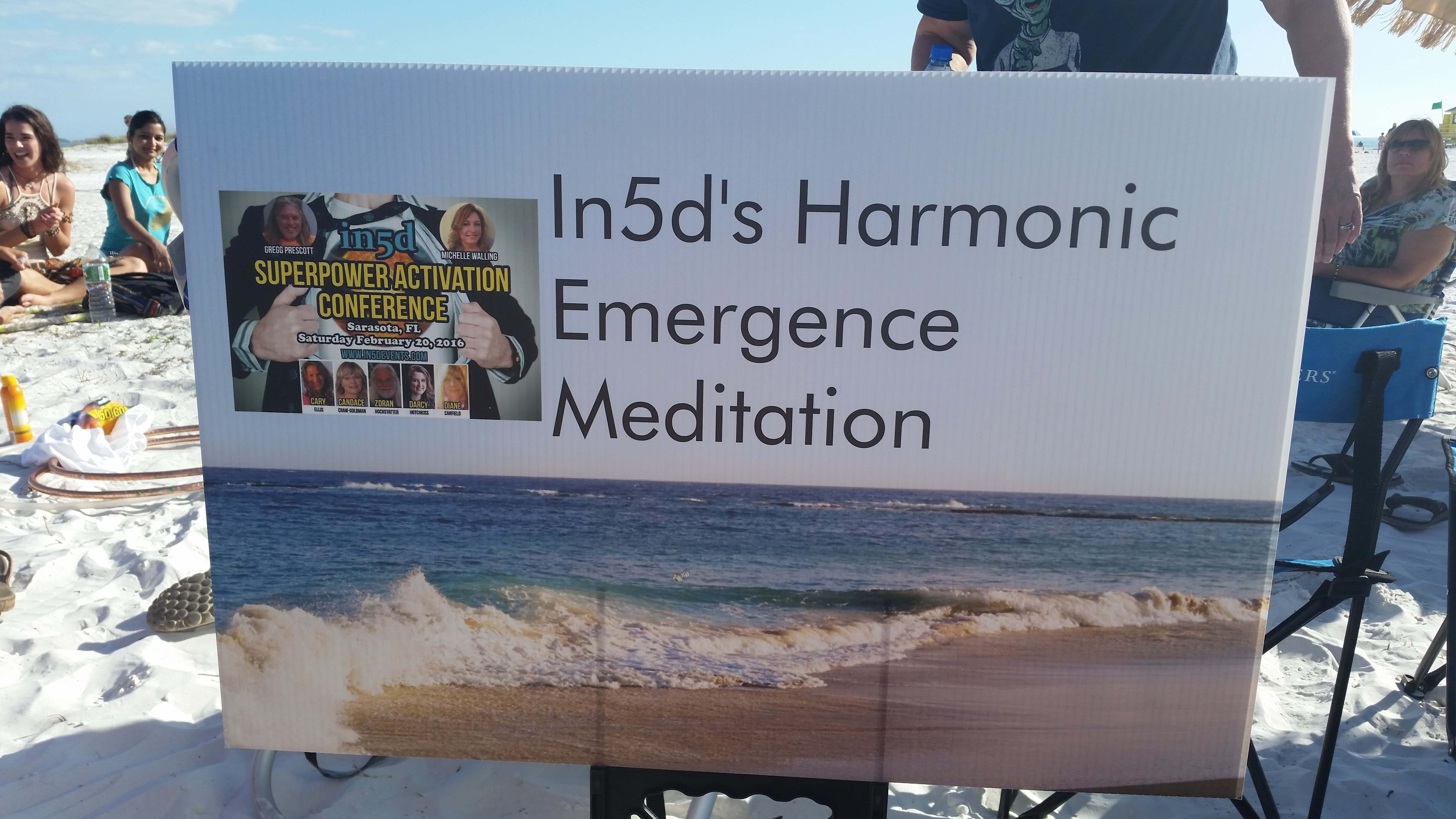 Harmonic Emergence Beach Meditation - Siesta Key Beach, Florida