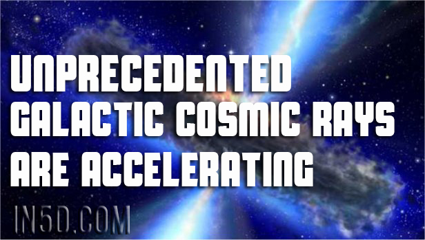 Unprecedented Galactic Cosmic Rays Are Accelerating