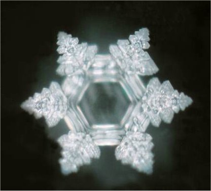Image of a water crystal after playing Edelweiss, courtesy of masuruemoto.net