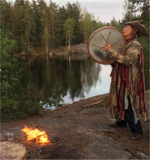 Image of Siberian Shaman Nikolay courtesy of Emmanuel Itier