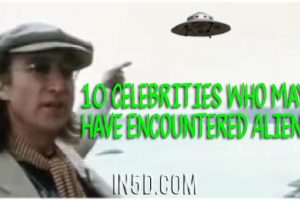 10 Celebrities Who May Have Encountered Aliens