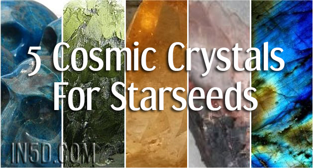 5 Cosmic Crystals For Starseeds