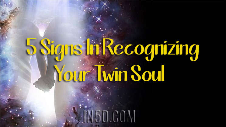 5 Signs In Recognizing Your Twin Soul In5d In5d