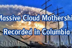 Massive Cloud Mothership Recorded in Columbia