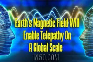 Earth's Magnetic Field Will Enable Telepathy On A Global Scale