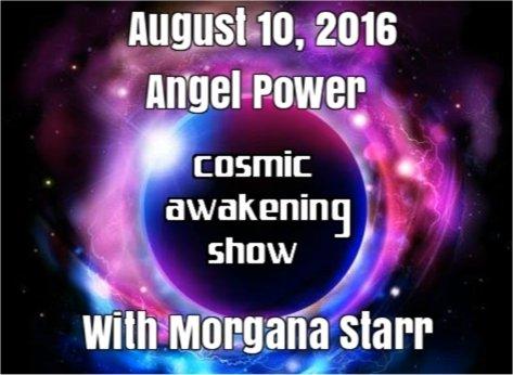 Angel Power With Morgana Starr The Cosmic Awakening Show