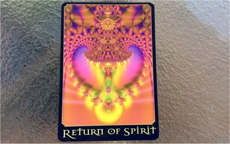 Displacement of Energy 'breaking' through after one has cleared and healed of the Human Soul - Return To Spirit - 17th August