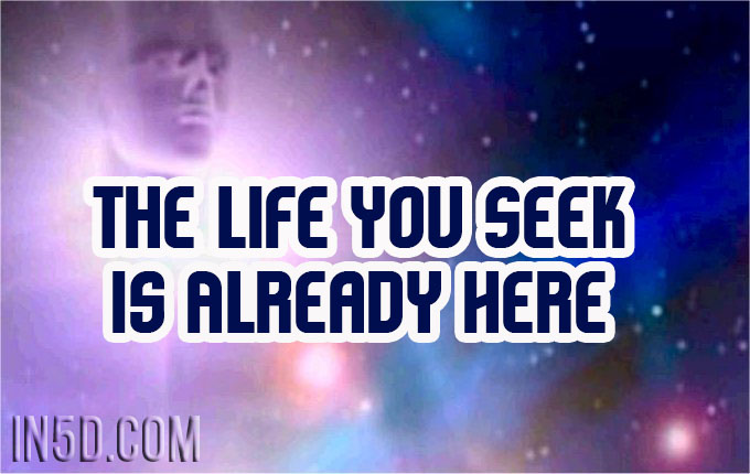 The Life You Seek Is Already Here