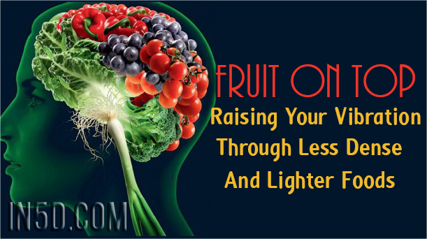 Fruit On Top - Raising Your Vibration Through Less Dense And Lighter Foods