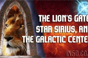 The Lion's Gate, Star Sirius, And The Galactic Center
