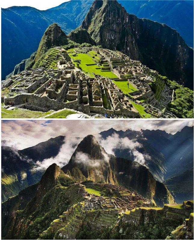 2. Machu Picchu in Peru