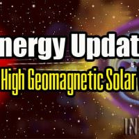 Energy Update – Super High Geomagnetic Solar Winds