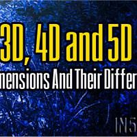 3D, 4D and 5D – The Dimensions And Their Differences