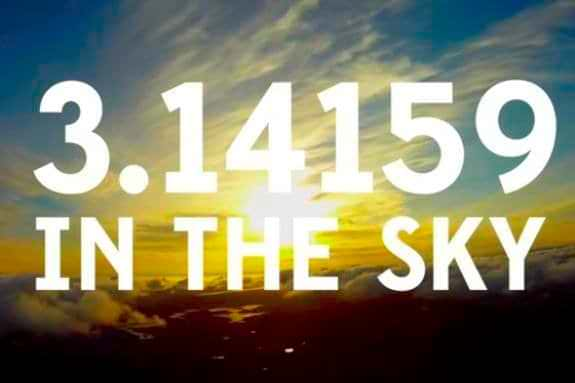 PI In The Sky; We Are All The Children Of Mathematics