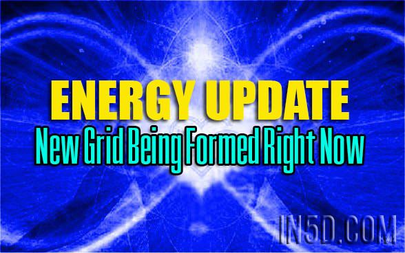 Energy Update - New Grid Being Formed Right Now