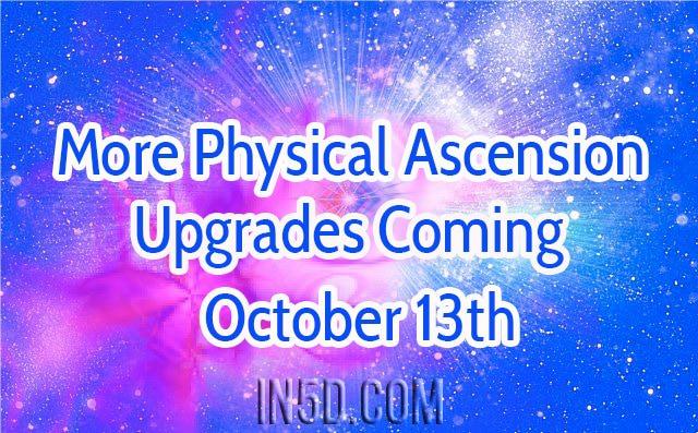 更多的物理升天升級即將10月13日!