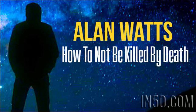Alan Watts - How To Not Be Killed By Death