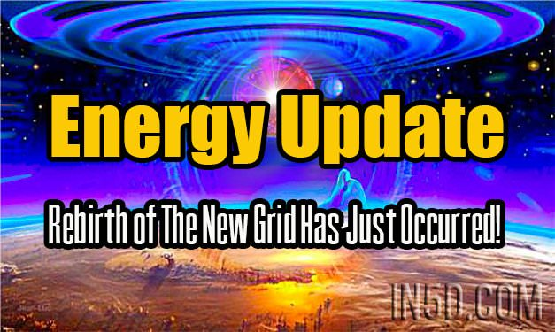 Energy Update - Rebirth of The New Grid Has Just Occurred!