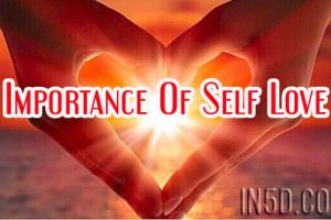 Importance Of Self Love