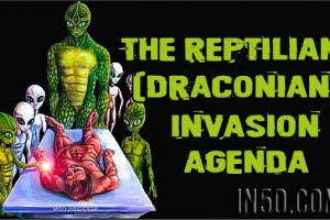 The Reptilian (Draconian) Invasion Agenda