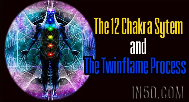 The 12 Chakra Sytem And The Twinflame Process In5d Esoteric