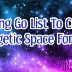 Letting Go List To Create Energetic Space For 2017